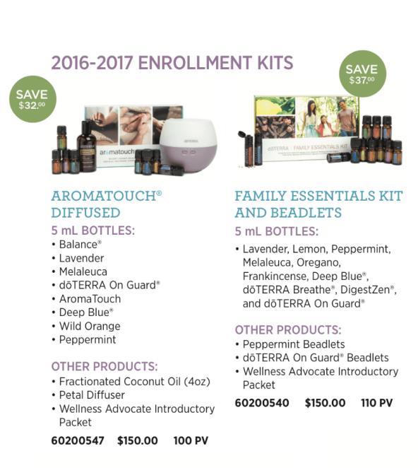 2016-2017 Enrollment Kits